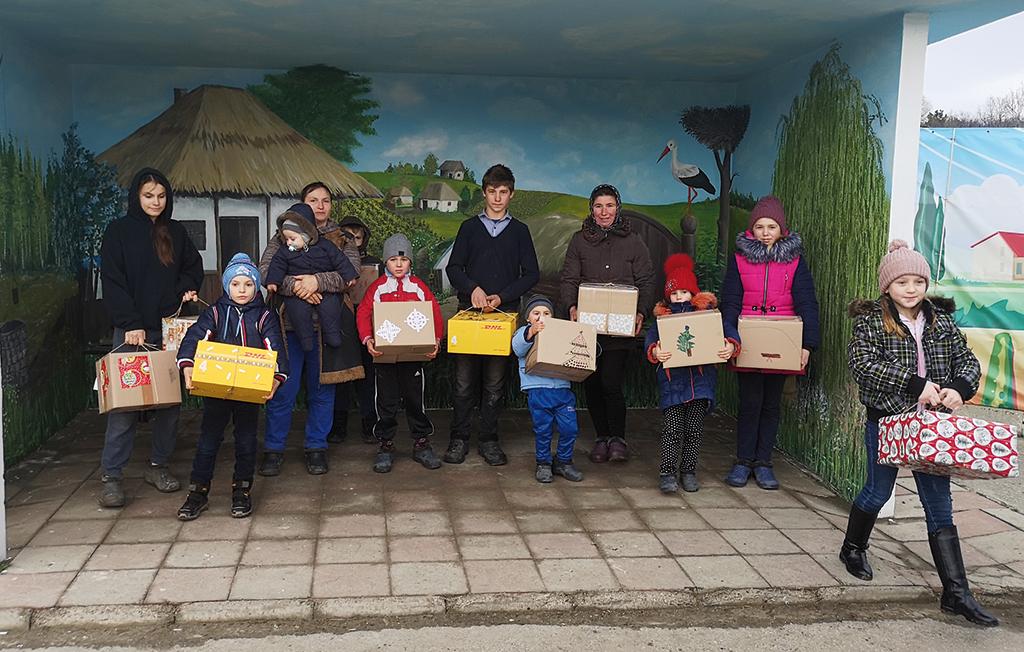 Hilfstransport in Moldawien angekommen